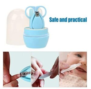 Baby Nail Cutter Set ! 4 Pieces For Baby ! All Set BPA Free Baby